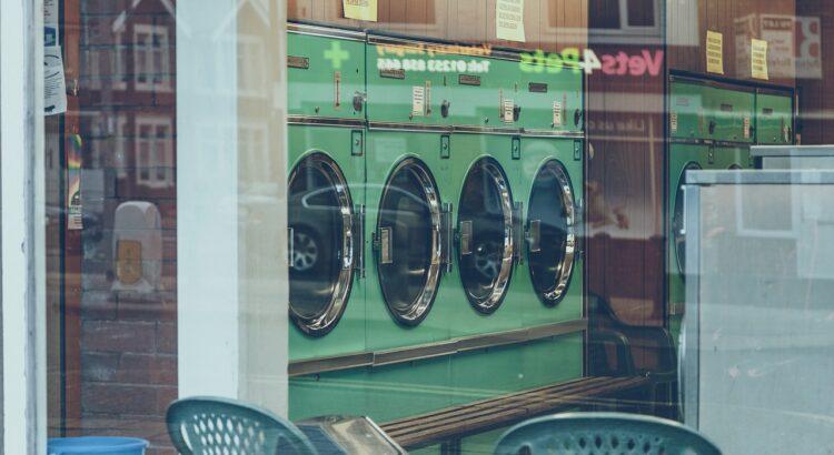 Machine à laver le linge industrielle